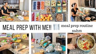 WEEKLY MEAL PREP WITH ME // MOM OF 3 COOKING ROUTINE //Jessica Tull