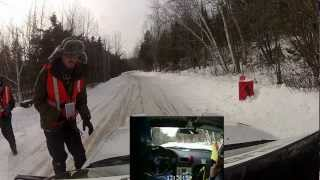 preview picture of video '2013 Rallye Perce Neige - EC8-Domaine du Cerf'