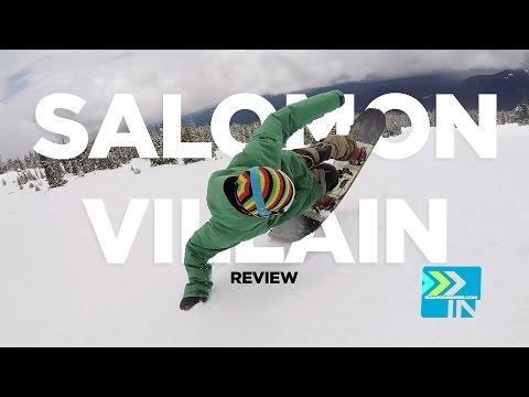 Salomon Villain Snowboard Review – 2016 Salomon Snowboards Villain Snowboard Review Board Isniders