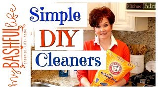 DIY Homemade Cleaners / How To Make Natural Cleaners