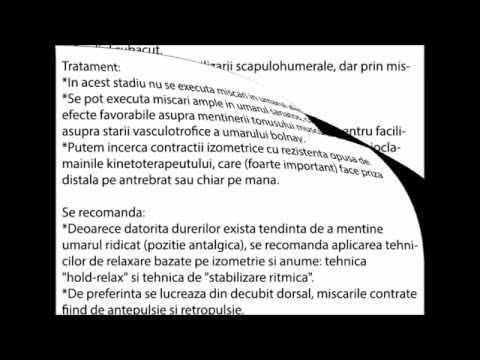 Artroza stării 3 a articulației gleznei