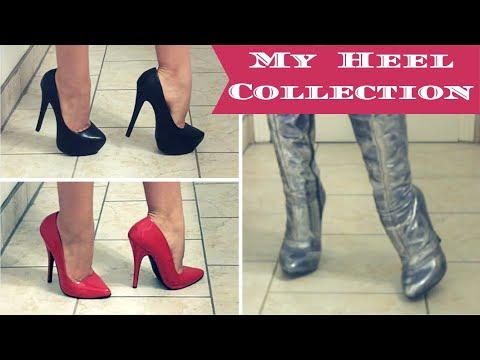 MY SHOE COLLECTION / Try On! | Lucy's Corsetry