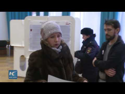 Polling stations open in Moscow for 2018 Russian presidential election