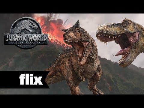 Jurassic World: Fallen Kingdom - The Volcano & Site B