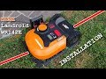 WORX Landroid WR142E Charging base and perimeter wire Installation