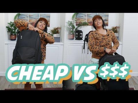 My Amazon Basics Roller Bag ($150) VS Think Tank roller bag ($300+)