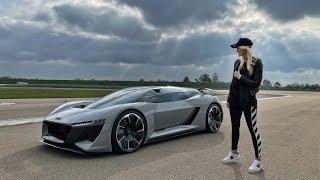 Audi's Future Supercar!