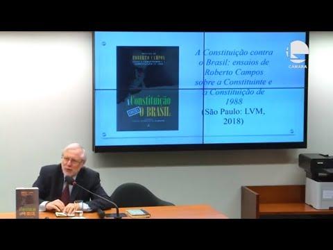 Palestra: Constituição contra o Brasil - 19/08/2019 - 17:38