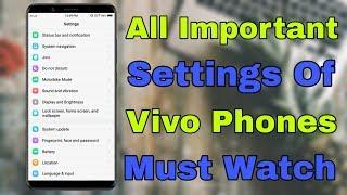 vivo 1820 all settings - Thủ thuật máy tính - Chia sẽ kinh