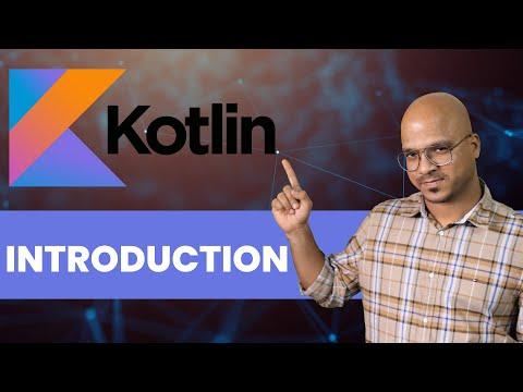#1 Kotlin Tutorial   Introduction