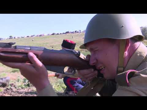 МАТЧ-ТВ: Донская военно-историческая реконструкция боев на Миус-фронте