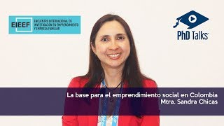 La base para el emprendimiento social en Colombia