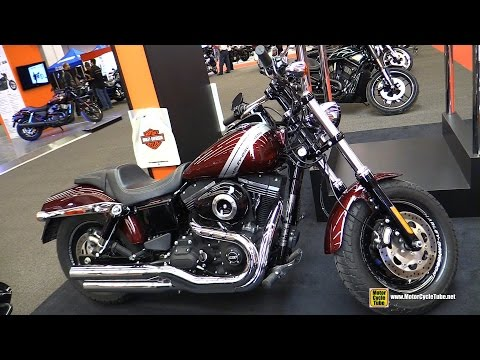 2015 Harley-Davidson Dyna Fat Bob - Walkaround - 2015 Salon Moto de Montreal