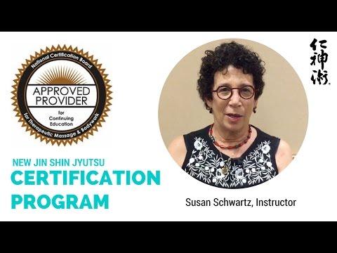 NEW! Jin Shin Jyutsu Certification Program 2017-18 - YouTube