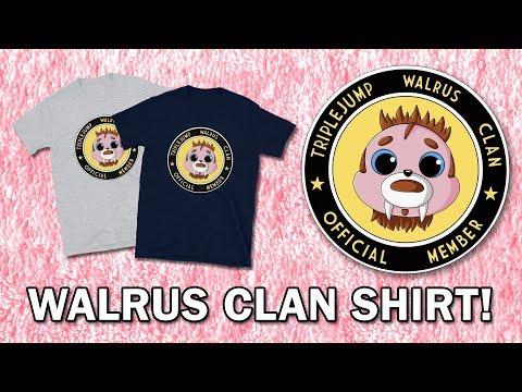 NEW MERCH ALERT: Walrus Clan Member Shirt Now Available!