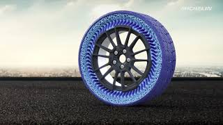 Michelin offers closer look at airless tire its developing with General Motors