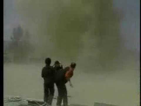 Tornado na boisku szkolnym