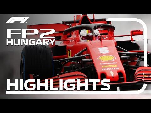 F1 2020 第3戦ハンガリーGP FP2ハイライト動画