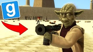 GMOD STAR WARS HOW TO BECOME A JEDI (GMOD Funny Moments)