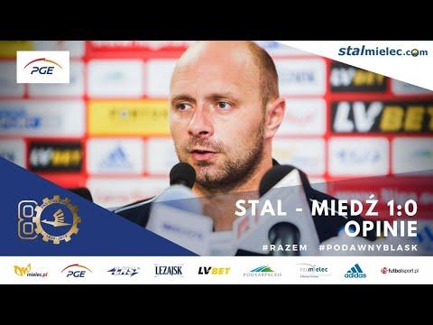 Wypowiedzi: PGE Stal Mielec - Miedź Legnica 1-0 [WIDEO]
