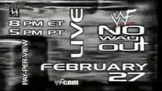 WWE No Way Out 2000 (2000) Video