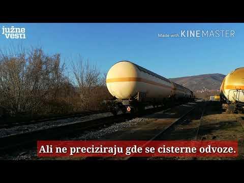 Cisterne na zatvorenoj pruzi Niš - Zaječar ispale četvrti put