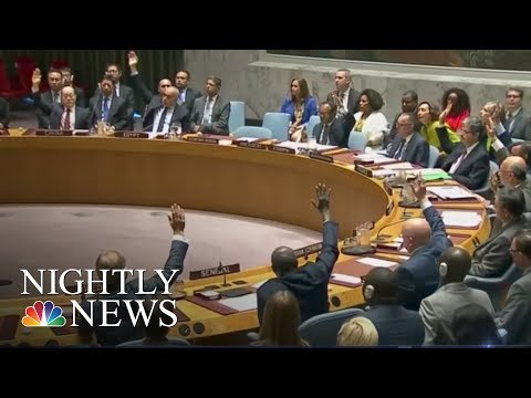 President Donald Trump Returns To New York Ahead Of Pivotal UN General Assembly | NBC Nightly News