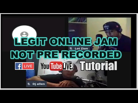 How to jam live online with JAMULUS NO LATENCY REAL TIME 2020  with PROOF