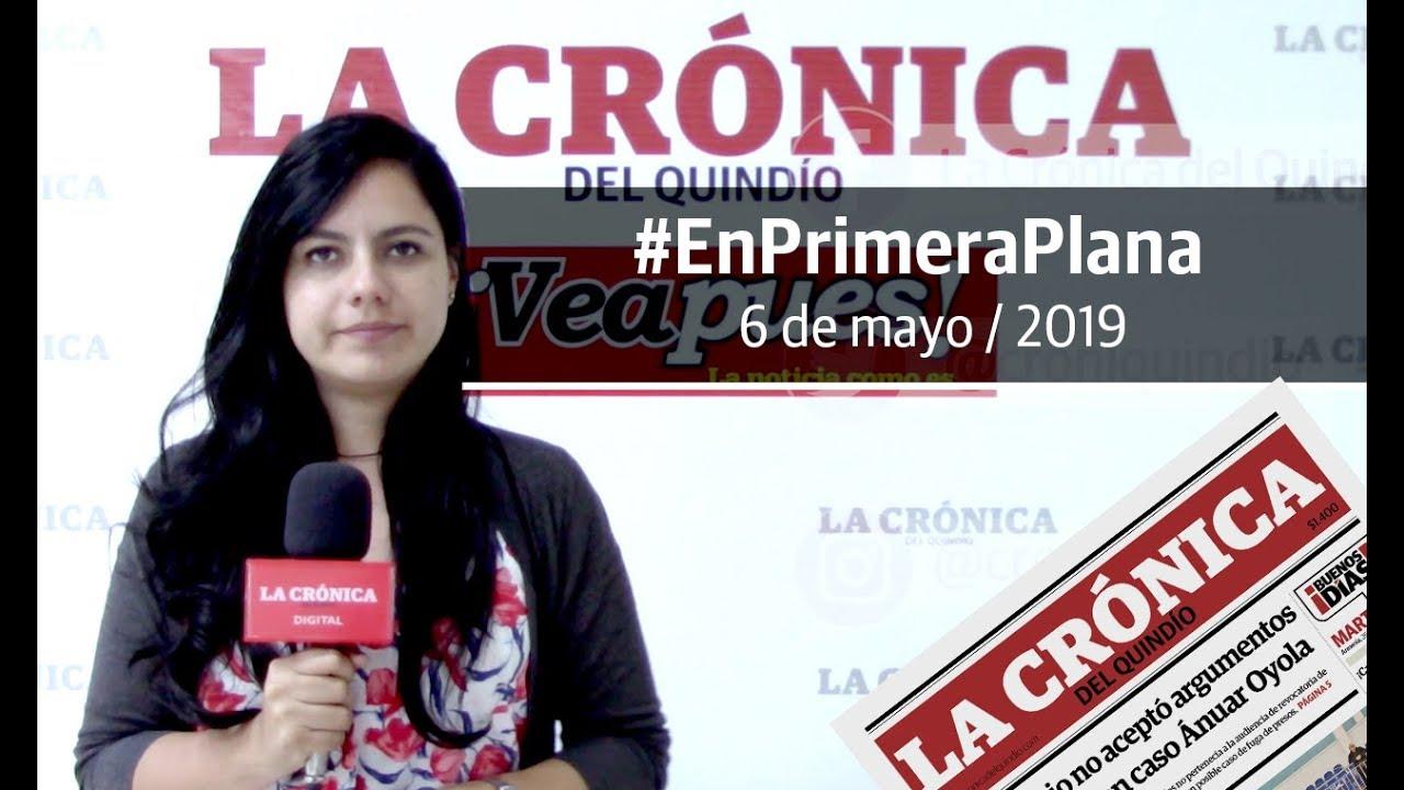 En Primera Plana: lo que será noticia este martes 7 de mayo