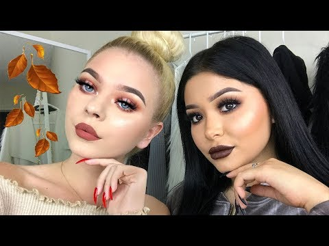 Easy Fall Makeup Looks ft. Tina Halada | Daisy Marquez