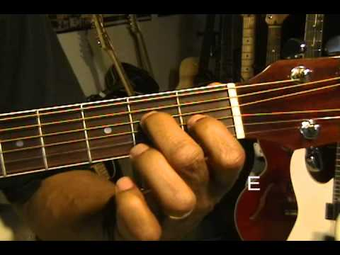 How To Play All 12 Major Guitar Chords Prt 2 C# D D# E F G G#  Beginner - Adv EricBlackmon