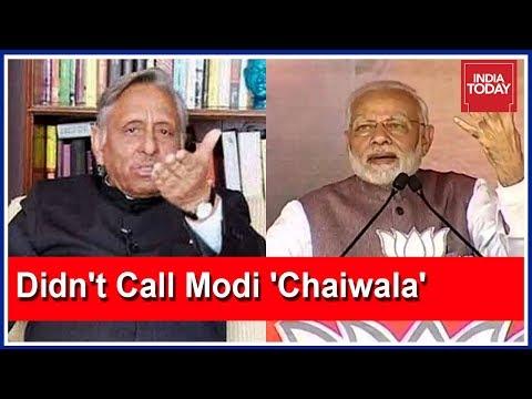 Mani Shankar Aiyar Exclusive: PM Modi Spreading Lies Over Chaiwala Jibe!