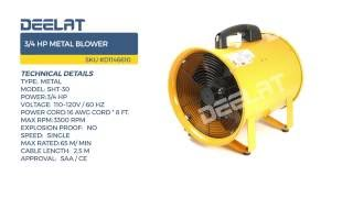 3/4 HP Metal Blower