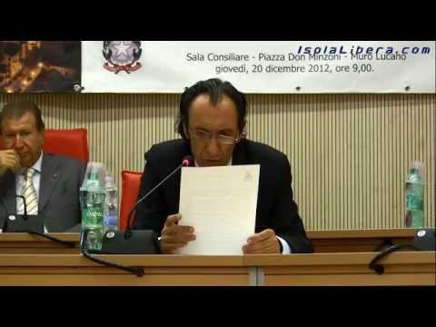 Consiglio Comunale del comune di Muro Lucano 10 giugno 2015