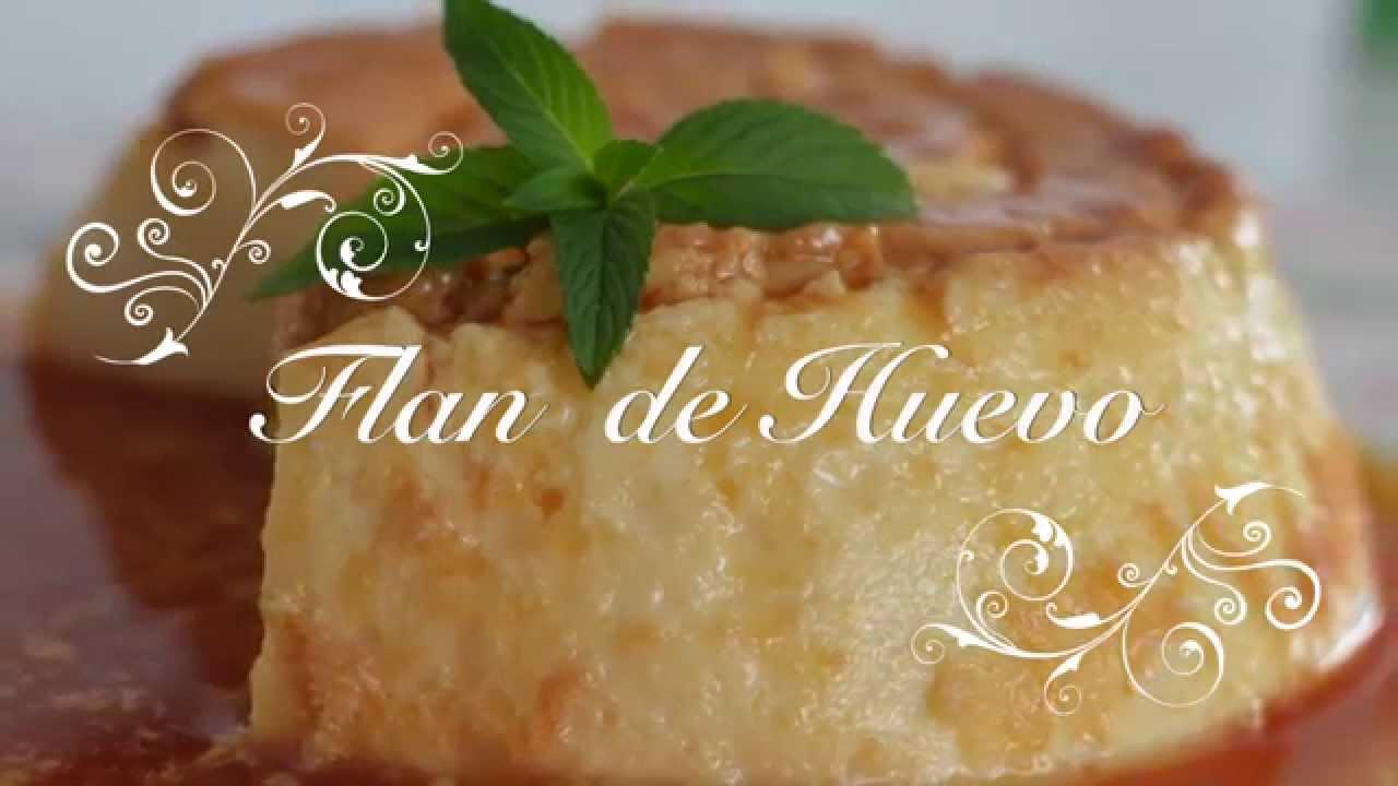 Flan de Huevo Casero con Leche Condensada | Flan en Olla Express | Como hacer Flan en Olla Express