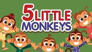 Five Little Monkeys(5匹の子ザル)