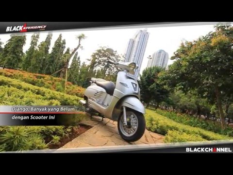 Test Ride Peugeot Django Scooter Retro Perancis