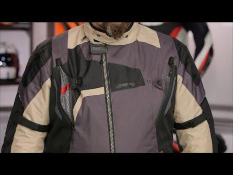 Blouson moto textile femme shane held