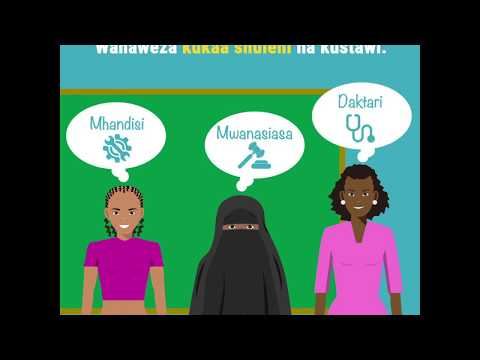 Empower the future of girls and the county (Swahili) Video thumbnail