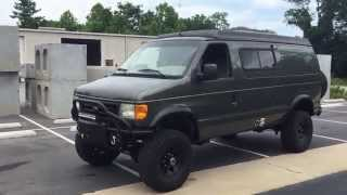Sportsmobile Van With Ujoint Offroad 4x4 Conversion