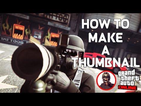 Download How I Make My Gta5 Thumbnails Rockstar Editor And Social