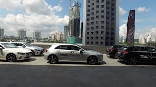 2019 New Mercedes-Benz A200 W177 Driving Review | Evomalaysia.com