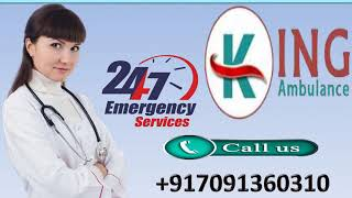 High Class Road Ambulance Service in Ranchi and Bokaro by King