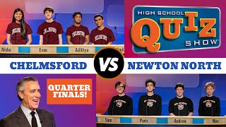 High School Quiz Show - Quarterfinal #2: Chelmsford vs. Newton North (710)