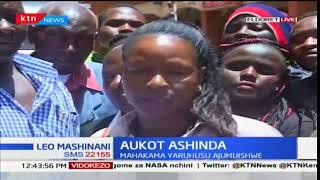Wakaazi wa eldoret wazungumzia ushindi wa Aukot kwa kesi na Raila kujiondoa