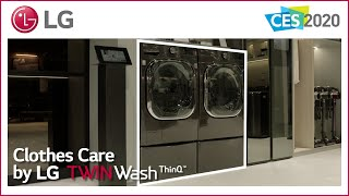 YouTube Video 0jHjS_IHass for Product LG TWINWash Washer-Dryer Bundle with LG SideKick by Company LG Electronics in Industry Laundry