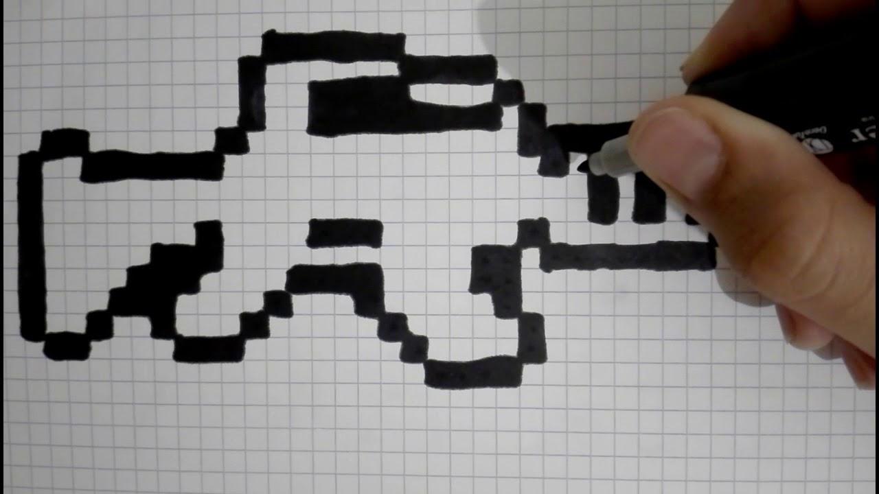 Image Pixel Art Fortnite