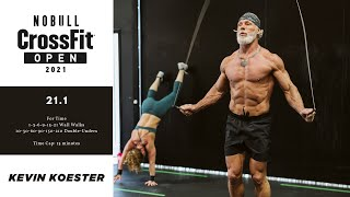 2x CrossFit Games Champion Kevin Koester CRUSHES 2021 CrossFit Open 21.1 WOD!!