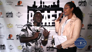 BZB interviews on the Red Carpet at PSAFE3