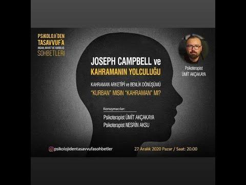 Joseph Campbell ve Kahramanın Yolculuğu- Psikolog Nesrin Aksu ile instagram canlı yayınımız